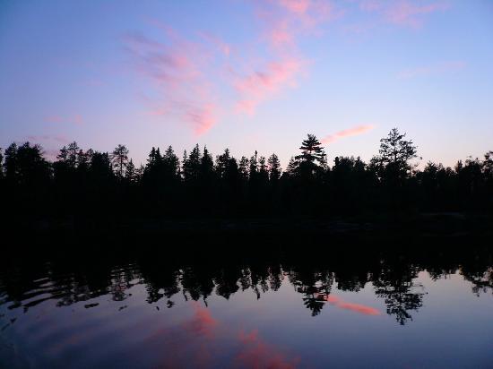 Ely, MN: BWCA sunset