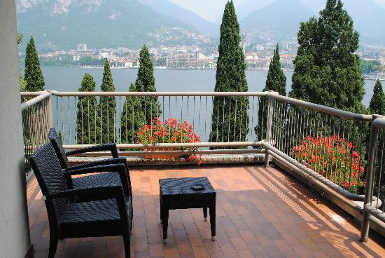 Clarion Collection Hotel Griso Lecco : Our terrace.