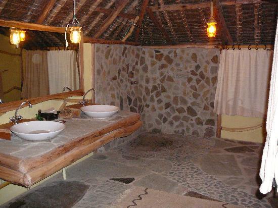 Satao Luxury Tented C& tent bathroom! & tent bathroom! - Picture of Satao Luxury Tented Camp Tsavo ...