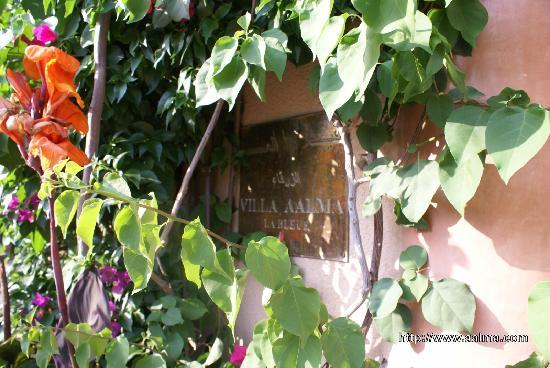 Villa Aalma: Villa Aâlma  , location saisonnière à Marrakech