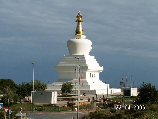 Benalmadena, Spain: Buddhist Temple