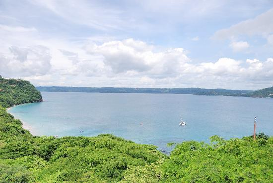 Four Seasons Resort Costa Rica at Peninsula Papagayo: View from room looking east (Playa Blanca)