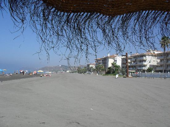Torrox, Spain: another view of beach