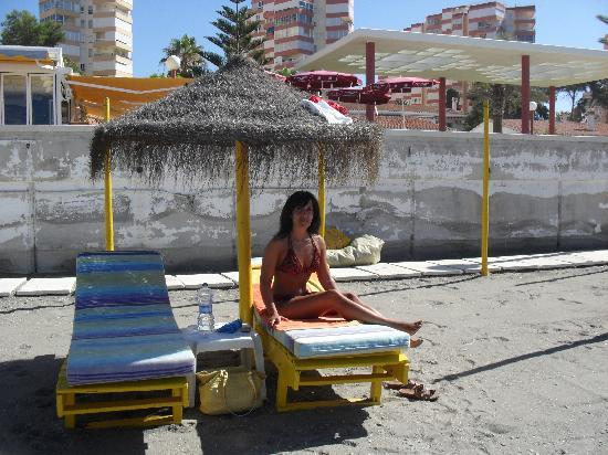 Santa Rosa Hotel: me relaxing on beach