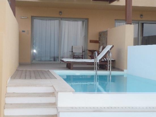 la chambre vue sur mer avec piscine privée - Picture of Sea Side ...