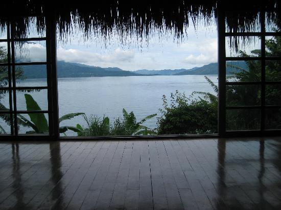 Villa Sumaya: View of Lake Atitlan from the yoga studio
