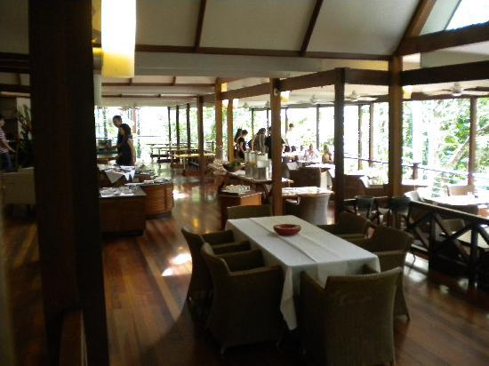 Silky Oaks Lodge: Silky Oaks restaurant