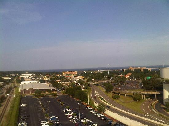 Pensacola Grand Hotel: View from room