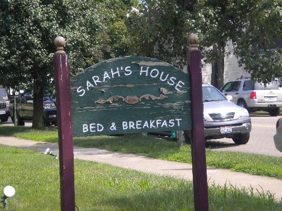 ‪‪Sarah's House Victorian Bed & Breakfast‬: Sign‬