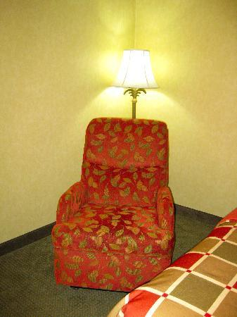 BEST WESTERN PLUS Revere Inn & Suites: recliner