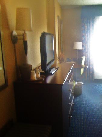 Hampton Inn & Suites Little Rock - Downtown: TV Console