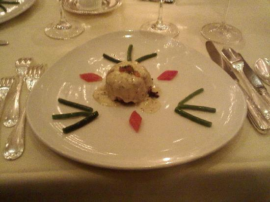 Le Bec Fin: Gallette de Crabe