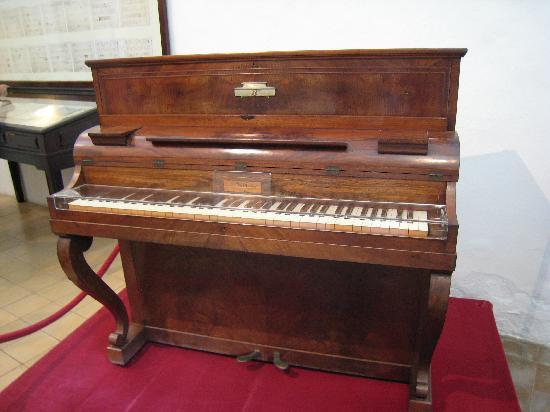 Valldemossa, España: ショパンのピアノ