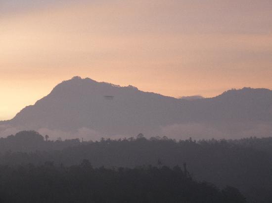 Sharing Bali: Sunset viewed from my balcony