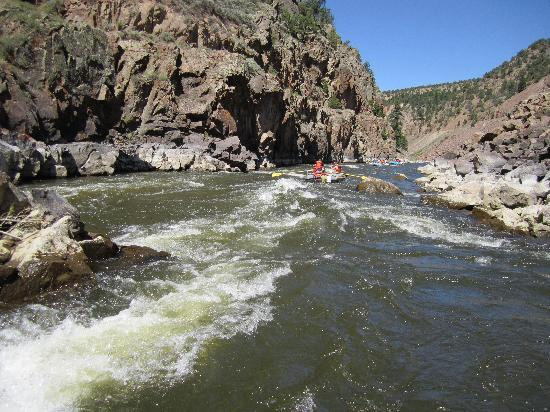 Granby, CO: River rafting