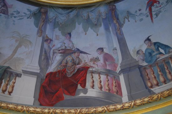 Schloss Sanssouci: Ceiling of the Chinese pavilion