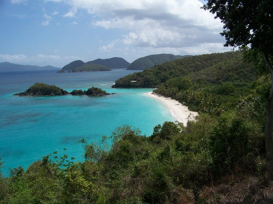 "Сент-Джонс: Quick trip over to Trunk Bay ""GORGEOUS!!!!""  One of my many favorite pics."