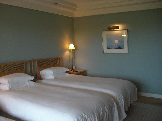 The Shilla Jeju: 快適な寝心地のベッド