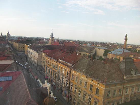 Hotel Aurora : Blick auf Satu Mare