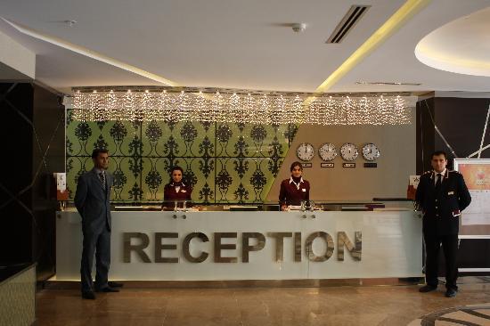 QafqaZ Point Boutique Hotel: Reception