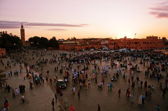 Marrakech, Morocco: Djemaa el Fna