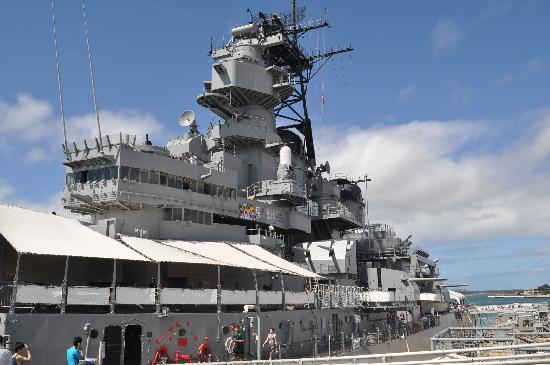 Battleship Missouri Memorial: USS Missouri
