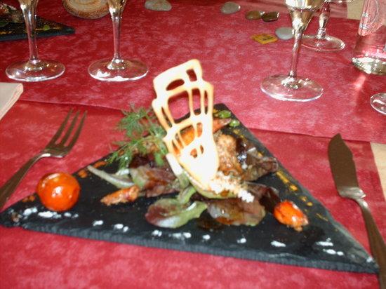Le Belem : Pince Homard en Salade