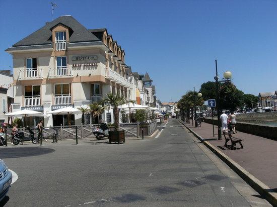 Pornic, Frankreich: Hotel Beau Soleil 2