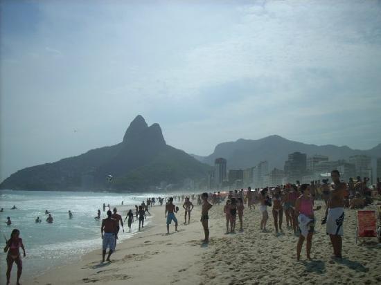 Rio de Janeiro, RJ: strand von Ipanema