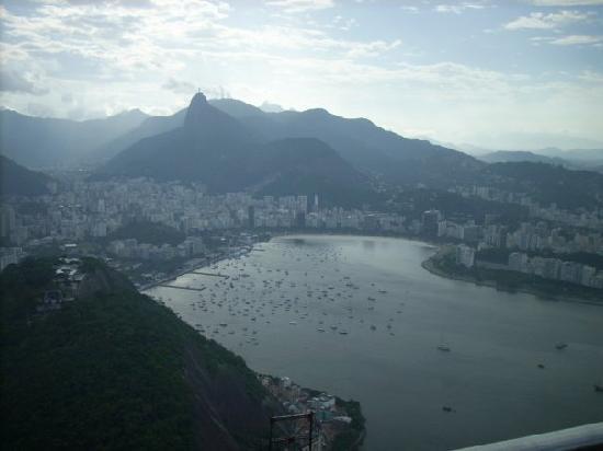 Rio de Janeiro, RJ: vom Zuckerhut aus fotografiert