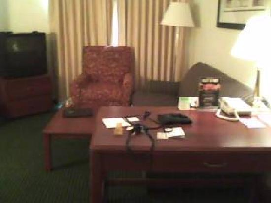 Lancaster Inn & Suites: Furniture in Room