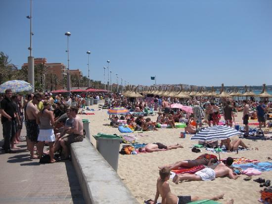 Pabisa Chico: Der Strand fünf Minuten vom Hotel entfernt.