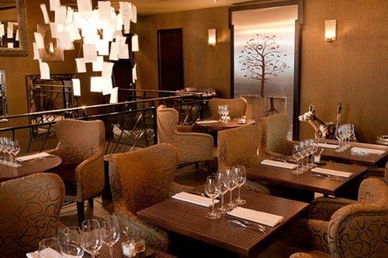 Bar at Flottes O.trement on 1st floor of Chez Flottes