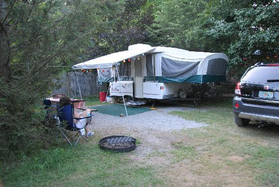 Deep Creek Tube Center & Campground: View of camping area