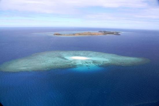 Fiji: Sorvolando le Isole Yasawa