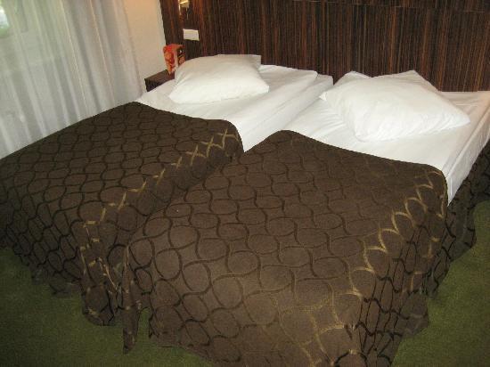 Days Hotel Riga VEF: unser Doppelbett