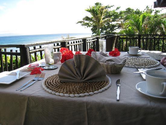 Taveuni Palms Resort: Another beautiful morning at Taveuni Palms