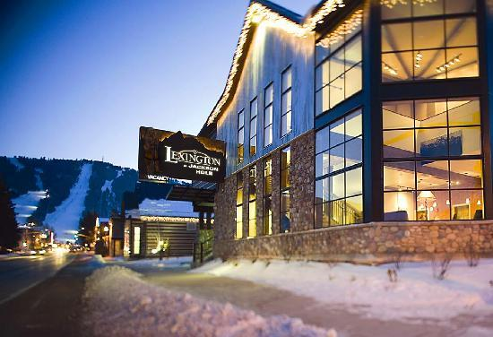 The Lexington at Jackson Hole Hotel & Suites: Exterior looking South