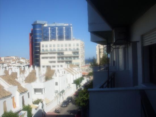 Kross Hotel Goya : View from balcony