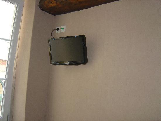 Hotel Port-Malo : ecran plat (dans toutes les chambres)