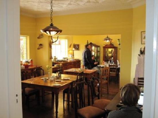 Sleepy Gecko Guesthouse : Breakfast rooms