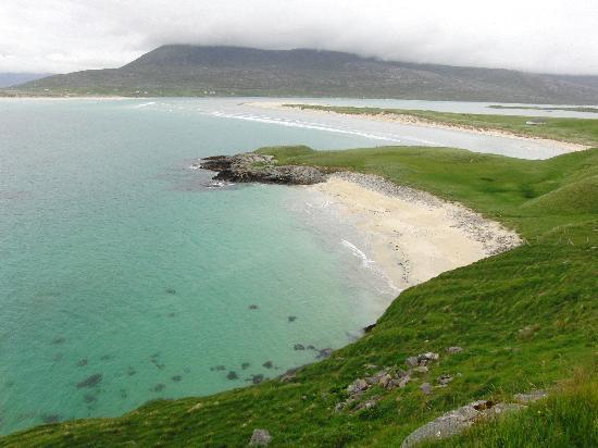 New Haven: One of the gorgeous beaches on Harris