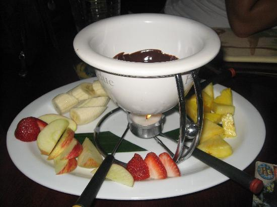 La Hacienda Restaurante: Chocolate fondue