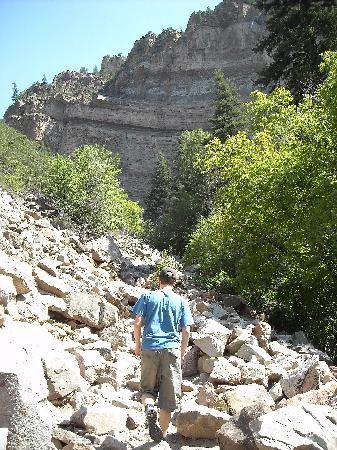 Glenwood Springs, CO: etwas steinig!