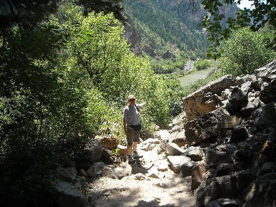 Hanging Lake Trail: fast geschafft!