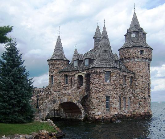 Boldt Castle and Yacht House: The powerhouse