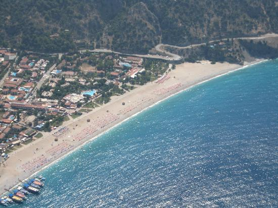 Club Belcekiz Beach Hotel: Oludeniz - microlighting