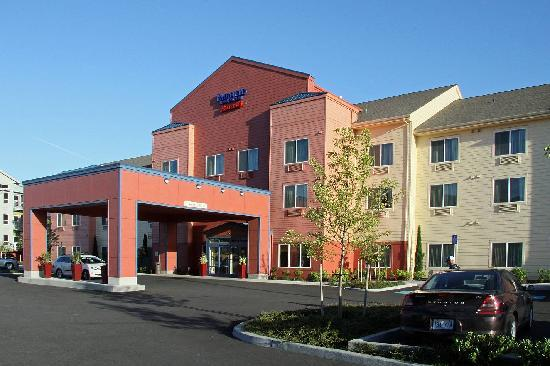 Fairfield Inn & Suites Portland North Harbour: Hotel Ansicht