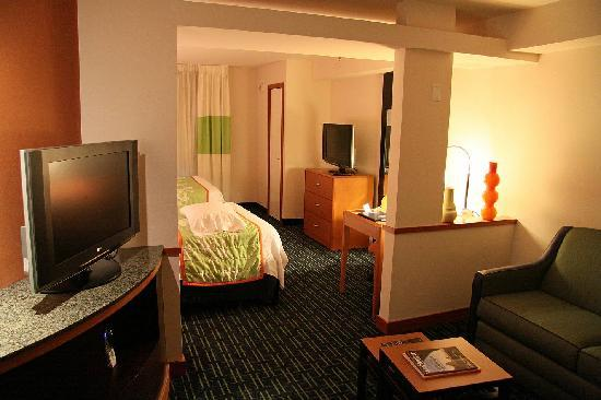 Fairfield Inn & Suites Portland North: Zimmer