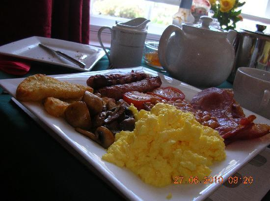 Pelistry Cottage: a different slant on a tasty breaky